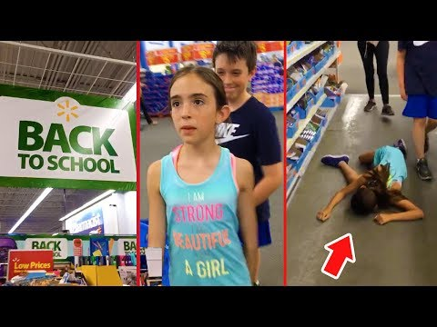 SHE PASSED OUT IN PUBLIC!!