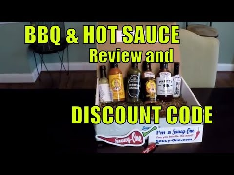 Saucy-ONE BBQ Sauce Review and Discount code!