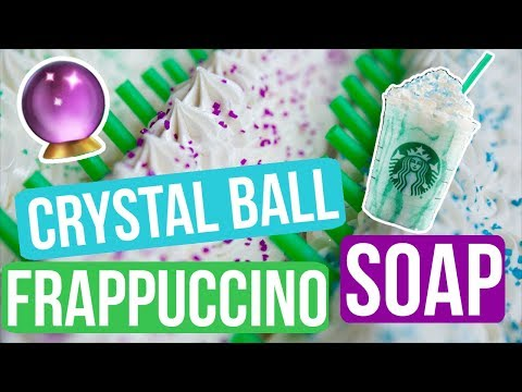 Crystal Ball Frappuccino Soap (Inspired by Starbucks) | Royalty Soaps