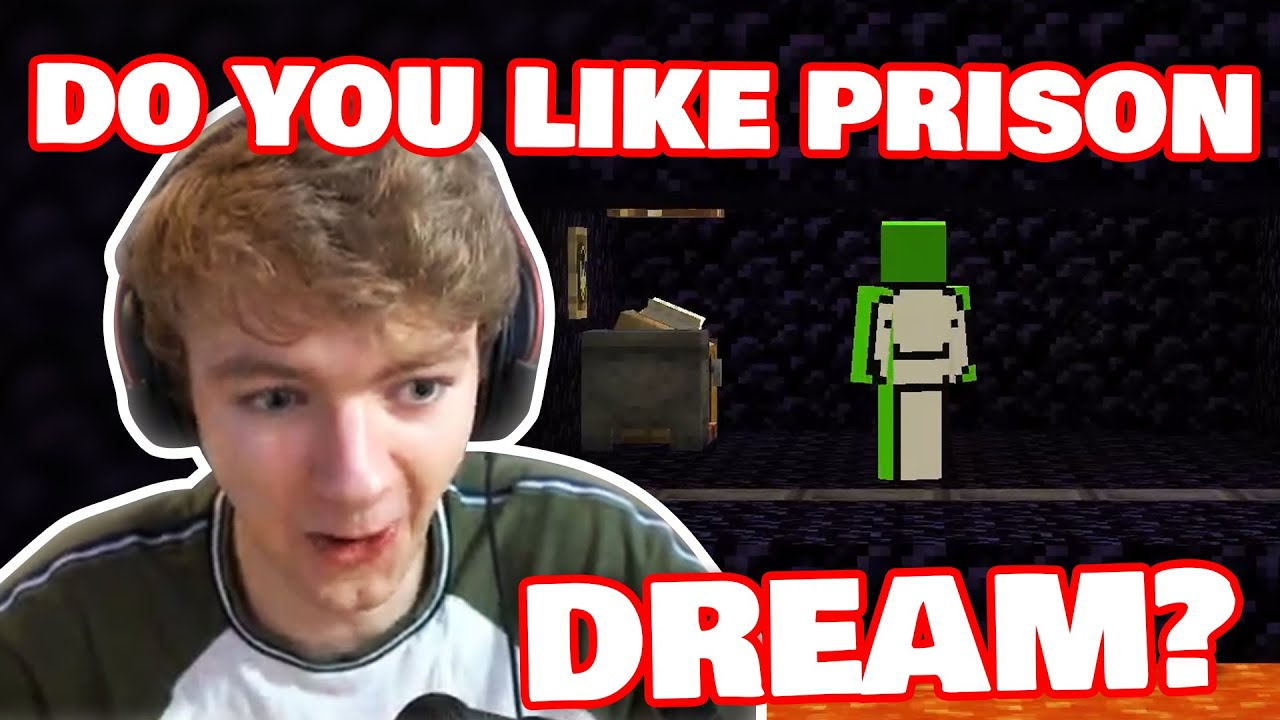 Tommy Came Into The PRISON To Visit DREAM! /w Awesamdude DREAM SMP
