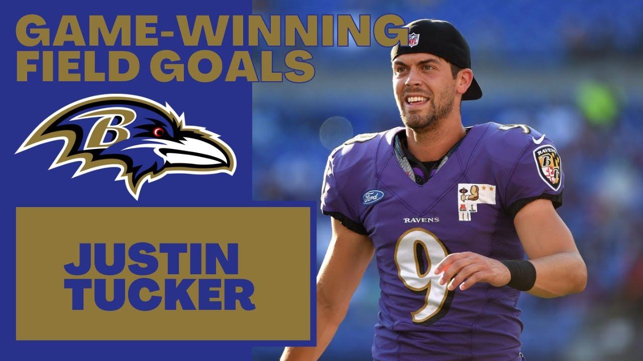 EVERY Justin Tucker NFL Career Game-Winning Field Goal (2012-2021)