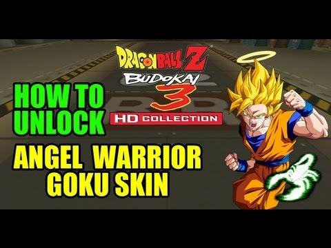 DRAGON BALL BUDOKAI 3 HD - ANGEL GOKU SKIN - UNLOCK TUTORIAL & TRYOUT