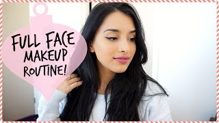 My Full Face Makeup Routine | Vlogmas Day 7