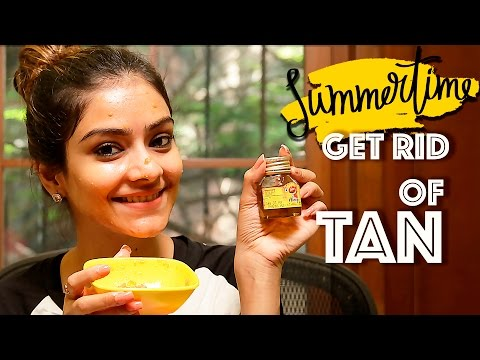 Get Rid Of Tan | How To Remove Tan | Remove Sun Tan Naturally | DIY Home Remedies | Foxy Makeup
