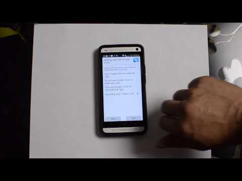 Setting up Google Voice and Call Forwarding on the AT&T HTC One