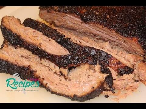 Slow Cooker Beef Brisket Recipe - EASY! - I Heart Recipes