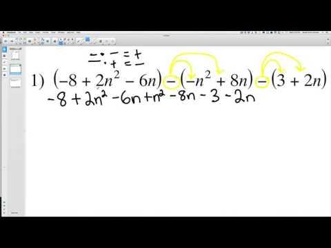 Adding Polynomials 1