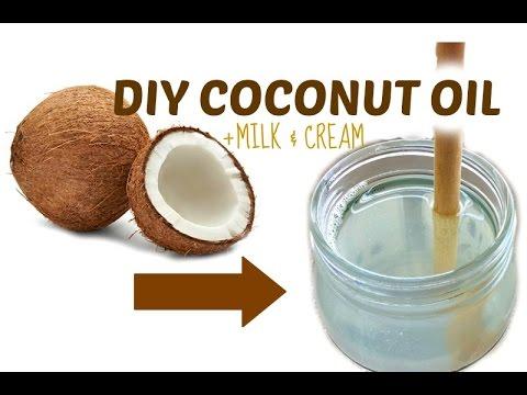 HOMEMADE COCONUT OIL, MILK & CREAM + 8 QUICK FACTS | DIY