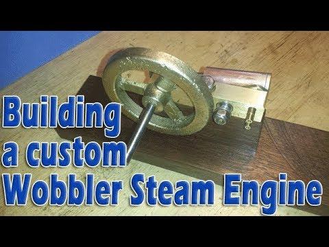 Building a precision oscillating steam engine: Part 3