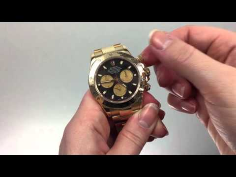 How to Use the Rolex Daytona Bezel: Calculating Average Speed per Hour