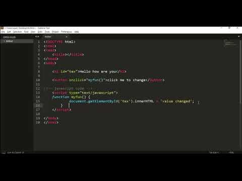 Create Simple Desktop Application with Javascript