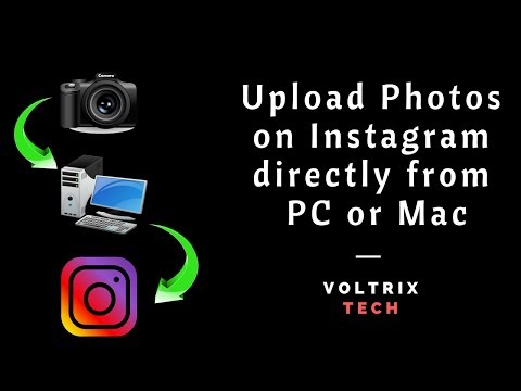 Upload Photos on Instagram Directly from PC or Mac | Without Bluestack|