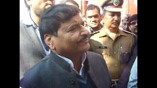 कैबिनेट मंत्री शिवपाल सिंह यादव के किया जिला जेल का निरीक्षण
