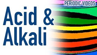 Acid and Alkali (THERMAL IMAGING) - Periodic Table of Videos