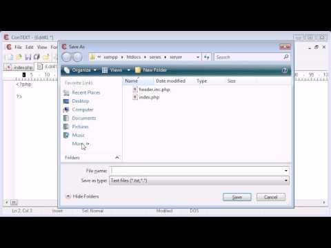 Beginner PHP Tutorial - 61 - $_SERVER Variables: Script Name