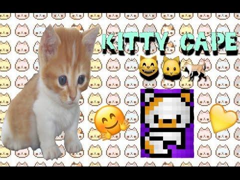 Pixel Gun 3D: How To Make A Chibi Kitty Cape