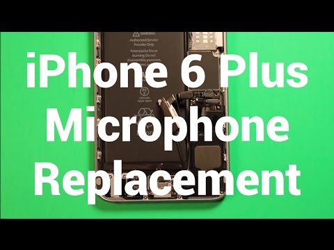 iPhone 6 Plus Microphone Replacement How To Change