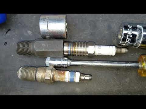 EASY FIX FORD  5.4 L Aluminum Head Spark Plug Seat Repair