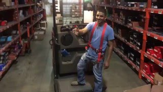 Un Official Forklift Training Video Order Picker