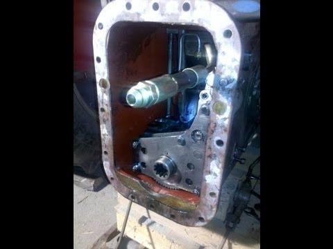 MF 165 Multi Power - Hydraulic pump refittment - part 8