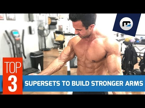 ✅ Sculpt & Build Stronger Arms w/ ➌ Supersets (Full Arms Workout)