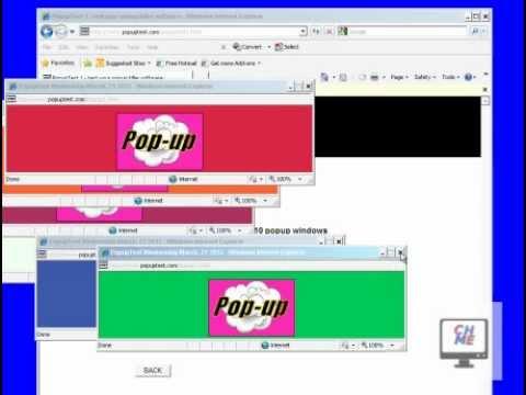 How to use popup blocker in internet explorer 8