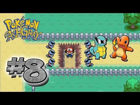 Pokémon Ash Gray Parte 8 - El Charmander abandonado y los Squirtle Squad
