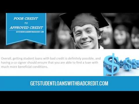 Do You Need a Co-Signer For Student Loans with Bad Credit.