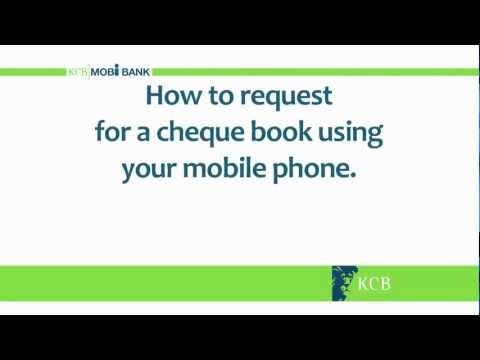 How to Request for a Cheque Book
