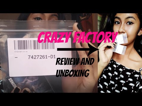 Crazy Factory Piercings Jewelry Review // First Impressions // Unboxing
