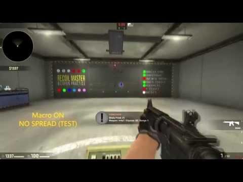 CS GO Macro | Macro CS:GO No Recoil / Spread - AK-47 / M4a4 / M4a1-s