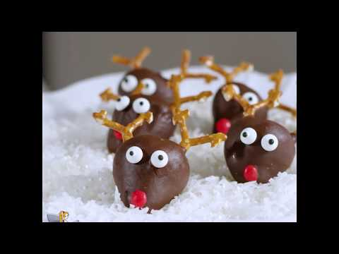 Dipped Strawberry Rudolph Christmas Recipe