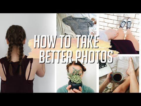 How to Take Better Instagram Photos!
