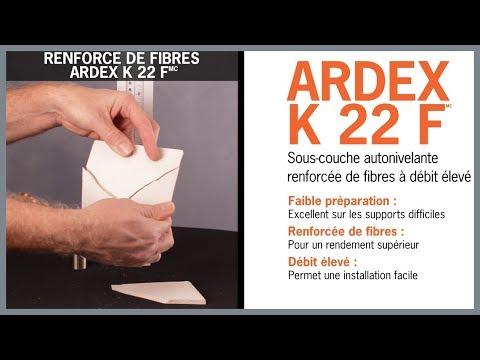 Comparaison de fibres ARDEX K 22 F