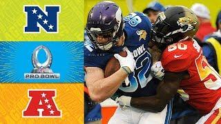 NFC vs. AFC   2018 NFL Pro Bowl Game Highlights
