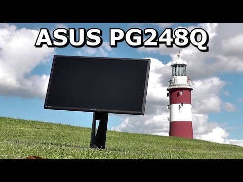 Asus PG248Q Review: Unboxing and Testing