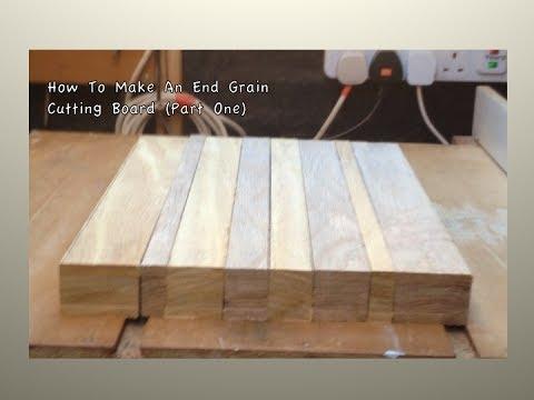 How To Make An End Grain Cutting Board #1