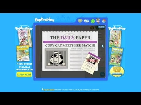 How to Beat Copy Cat on Poptropica : Poptropica Game Tips