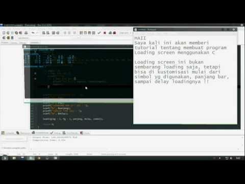 [Tutorial Dev C++] Cara membuat customized loading screen