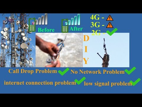 How To Boost Your Mobile Signal Low to Full Network