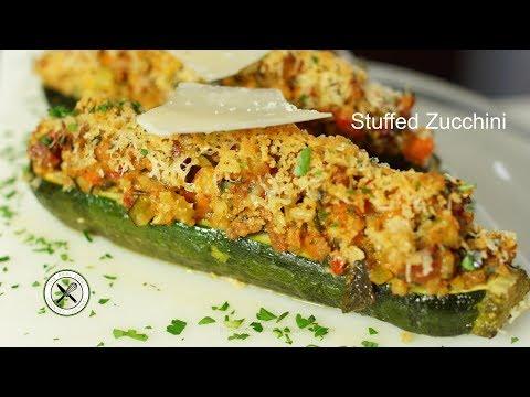Stuffed Zucchini – Bruno Albouze – THE REAL DEAL