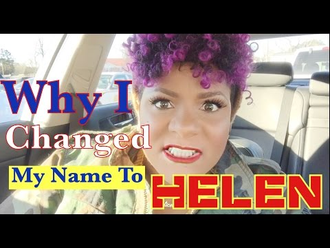 WHY I CHANGED MY NAME TO HELEN   Wendy Williams Here I Come   Fitness