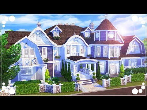 MY HAMPTONS DREAM HOUSE 💕 (10K SUBSCRIBER SPECIAL + Q&A!) | The Sims 4 | Speed Build