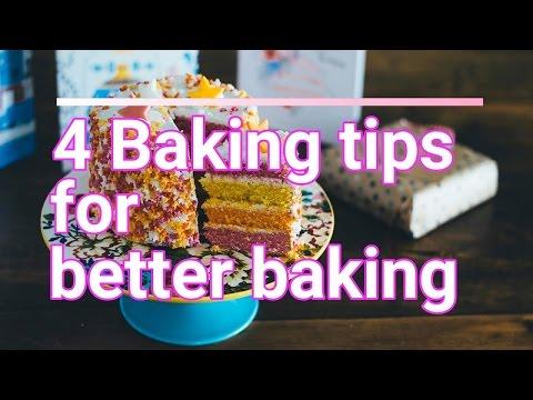 4 Baking Tips For Better Baking