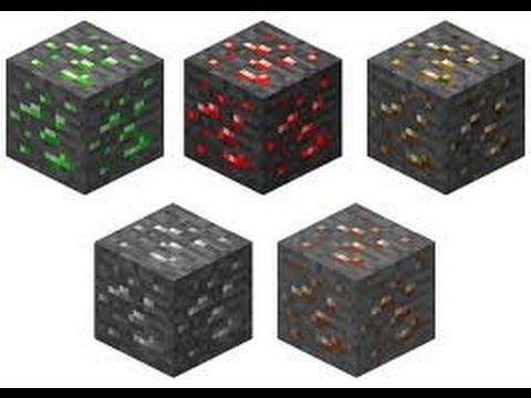 Minecraft - Finding Tin,-Copper,-Mithril,-Uranium and Adamant Ores (Mod)