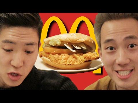 Americans Try Korean McDonald's