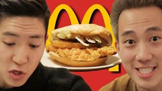 Americans Try Korean McDonald