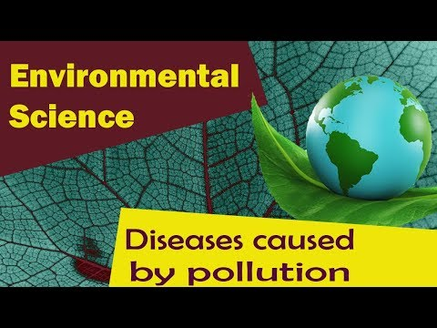 Diseases Caused By Pollution | Dietary Disease | Respiratory Diseases | Part 1-Environmental Science