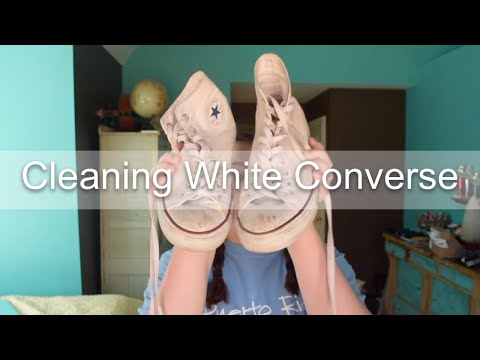 DIY: Cleaning White Converse