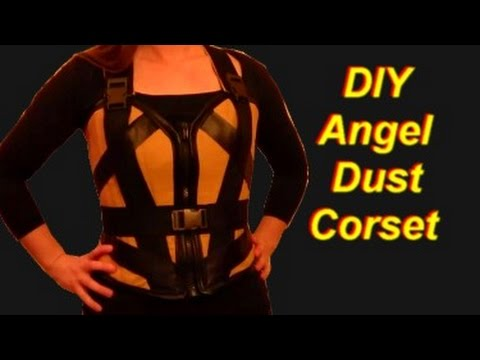How to Make an Angel Dust Costume (Deadpool movie version): Corset